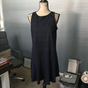 NWT Loft Floral Lace Flippy Dress
